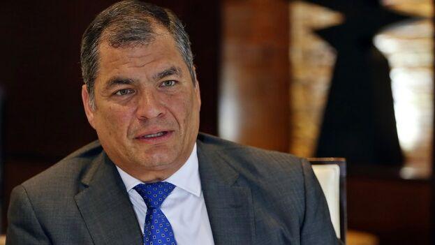 El expresidente de Ecuador, Rafael Correa. (EFE/Alejandro Ernesto/Archivo)