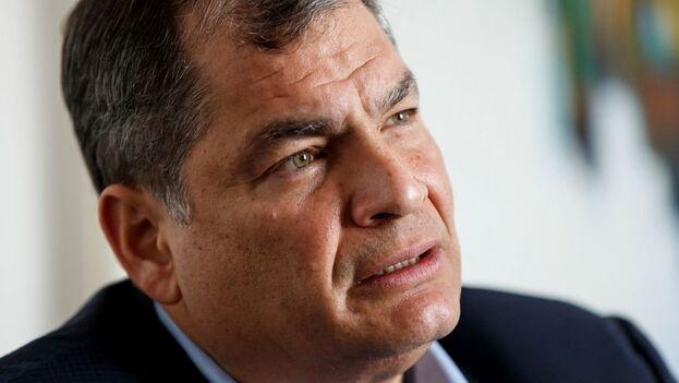 El expresidente de Ecuador Rafael Correa. (EFE/José Méndez/Archivo)