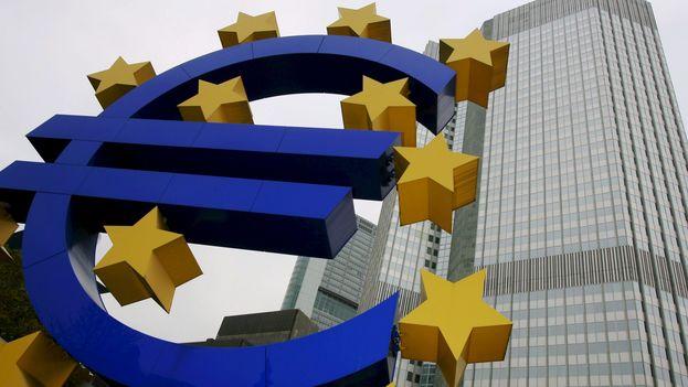 Edificio del Banco Central Europeo (BCE) en Fráncfort, Alemania. (EFE/Archivo)