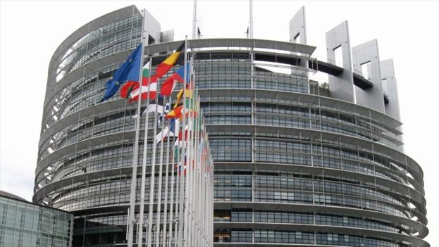 Edificio del parlamento europeo en Estrasburgo, Alemania. (EFE)