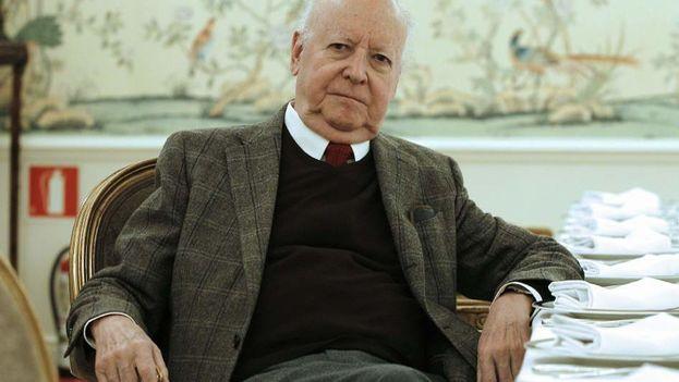 Jorge Edwards ocupó la plaza de Encargado de negocios en La Habana tras la llegada al poder en Chile del socialista Salvador Allende. (EFE)