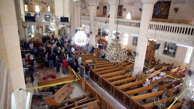 """""""Que sepan todos los infieles y apóstatas de Egipto y de todas partes, que nuestra guerra contra los idólatras continúa"""", aseguraron los terroristas antes de perpetrar un atentado similar. (EFE)"""