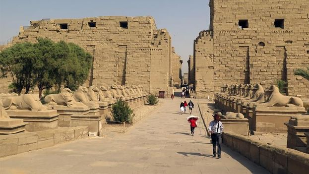 Egipto posee inmensos tesoros en patrimonio histórico que son expuestos al turismo. (EFE)