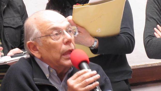 Jorge Batlle en una intervención ante el Comité Ejecutivo Nacional del Partido Colorado en 2011. (Captura)