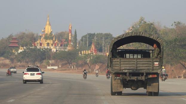 El jefe del Ejército y líder del golpe, Min Aung Halaing, y otros líderes golpistas se encuentran ya bajo sanciones de la Unión Europea y Estados Unidos. (EFE/EPA/MAUNG LONLAN)
