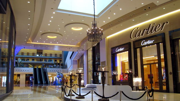 Elements, en Hong Kong, es uno de los centros comerciales que más marcas de lujo concentran. (CC)