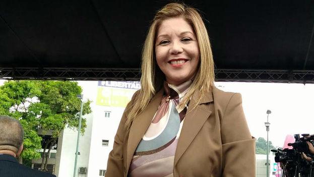 La magistrada venezolana Elenis del Valle Rodríguez ingresó a la Embajada de Chile en Caracas y está bajo protección de ese país. (El Universal)