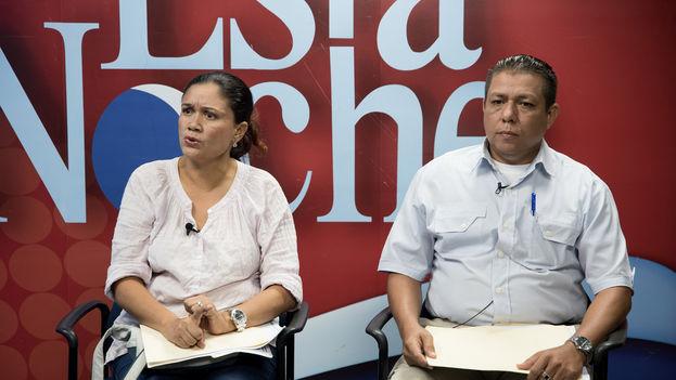 Elisa Silva denunció en el programa Esta Noche la detención de su hermano, acusado de terrorismo. (Confidencial)