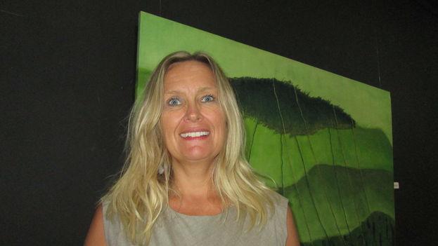 Elisabeth Eklund, embajadora de Suecia en Cuba. (14ymedio)