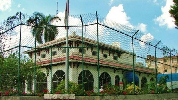 Embajada de Canadá en La Habana. (Twitter)
