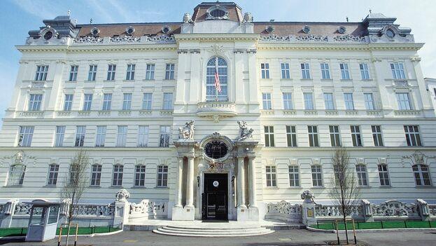 Embajada de EE UU en Viena, Austria. (Facebook/US Embassy Vienna)