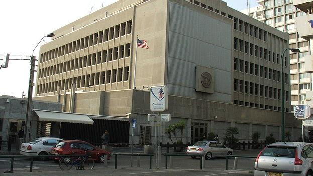 Embajada de Estados Unidos en Tel Aviv. (CC)