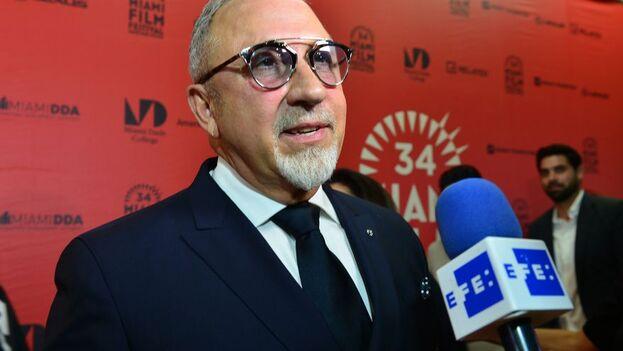 El compositor y productor musical de origen cubano Emilio Estefan, en Miami. (EFE/Giorgio Viera/Archivo)