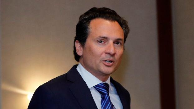 Emilio Lozoya, expresidente de la petrolera Pemex imputado por corrupción y recién extraditado desde España. (EFE)