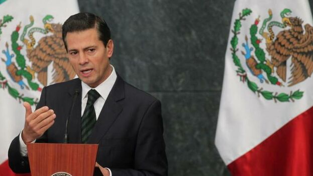 Enrique Peña Nieto se convirtió en uno de los presidentes más rechazados de la historia reciente. (EFE)