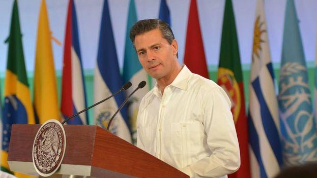 El presidente de México, Enrique Peña Nieto. (Facebook)
