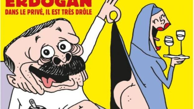 Erdogán protagoniza la última portada de Charlie Hebdó, tras las polémicas. (Charlie Hebdo)