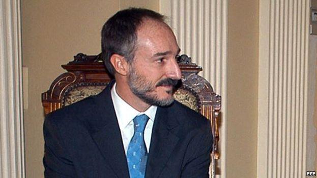 El embajador de España en Cuba, Juan Francisco Montalbán.