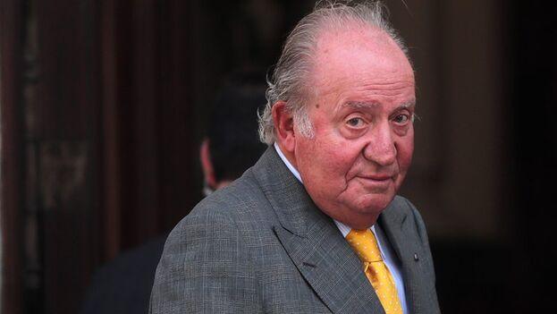 El rey emérito de España Juan Carlos. (EFE/Mario Ruiz/Archivo)