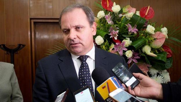 Eugenio Martínez, embajador cubano en España. (EFE)