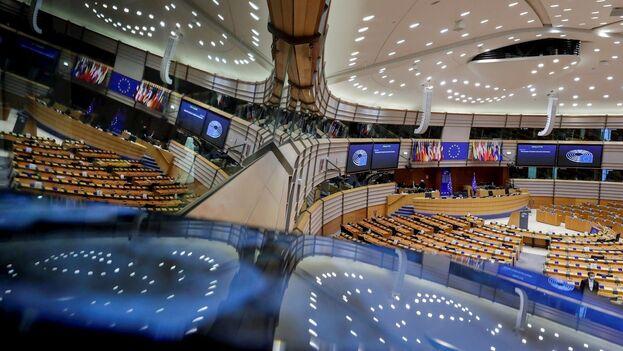 La Eurocámara aprobó una resolución no vinculante por 391 votos a favor, 119 en contra y 177 abstenciones. (EFE)
