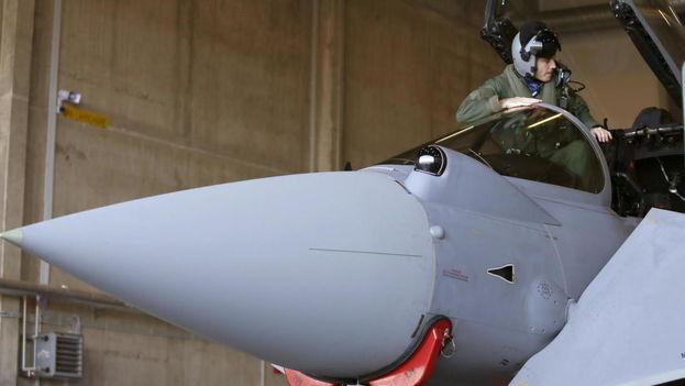 Los cazas 4 Eurofighter del Ejército del Aire español desplegados en Estonia en misión de la OTAN han tenido que interceptar seis aviones rusos de guerra electrónica  Leer más:  Los eurofighter españoles se estrenan en Estonia al interceptar aviones rusos. (EFE)
