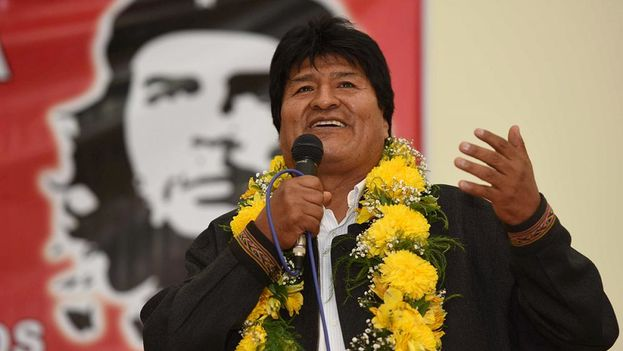 Evo Morales es un seguidor de las ideas de Ernesto Guevara. (CC)