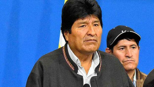 """Evo Morales hizo alusión a tres informes que, aseguró, """"destruyen"""" los argumentos sobre un supuesto fraude electoral. (EFE)"""