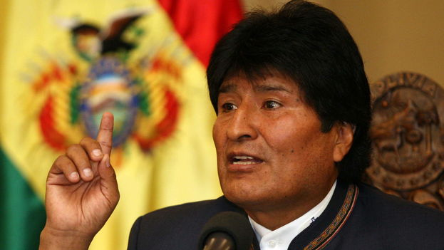 Evo Morales, presidente de Bolivia. (EFE)