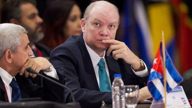 El ministro de Comercio Exterior y la Inversión Extranjera de Cuba, Rodrigo Malmierca. (EFE)
