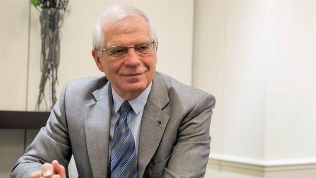 El ministro de Exteriores español, Josep Borrell, recordó que Zapatero interviene en Venezuela a título personal como lo hace Felipe González, no en nombre del Gobierno. (EFE)