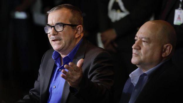 """El líder máximo de las FARC, Rodrigo Londoño, alias """"Timochenko"""". (EFE)"""