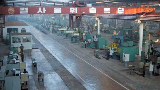 Fábrica estatal de herramientas en Huichón, Corea del Norte. (CC)