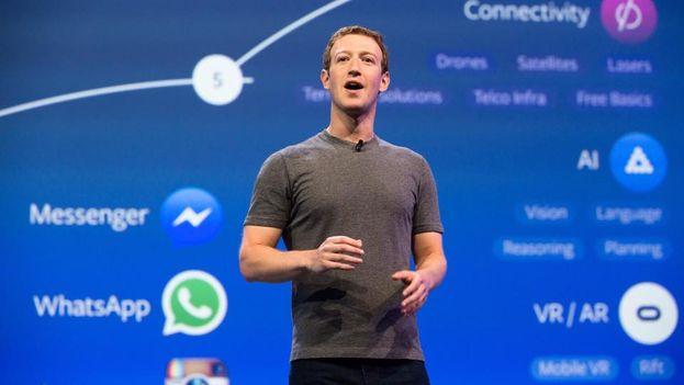 """El principal ejecutivo de Facebook, Mark Zuckerberg, admitió el pasado miércoles que fue un """"abuso de confianza"""" permitir que una aplicación recabara datos para Cambridge Analytica. (Facebook)"""