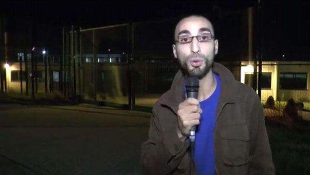 Fayçal Cheffou ha sido identificado como el tercero de los atacantes del aeropuerto de Zaventem. (Fotograma)