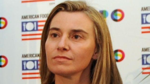 Federica Mogherini alta representante de la Unión Europea para Asuntos Exteriores y Política de Seguridad  (CC)