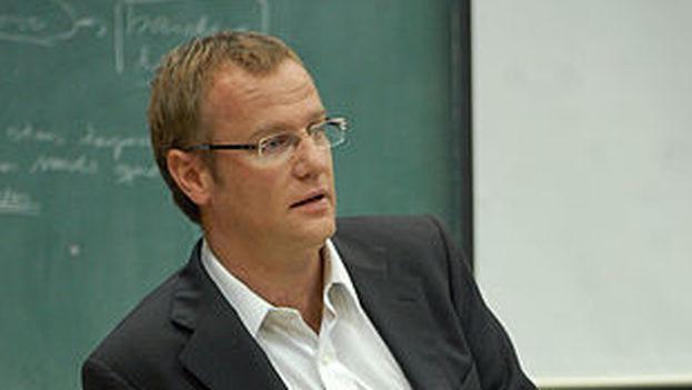 El diputado Felipe Kast en Chile durante un encuentro con estudiantes de ingeniería. (CC)