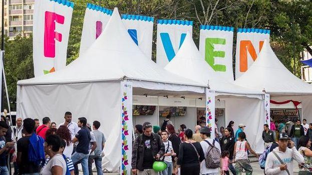 La Feria Internacional del Libro de Venezuela arrancó este jueves en Caracas. (EFE)