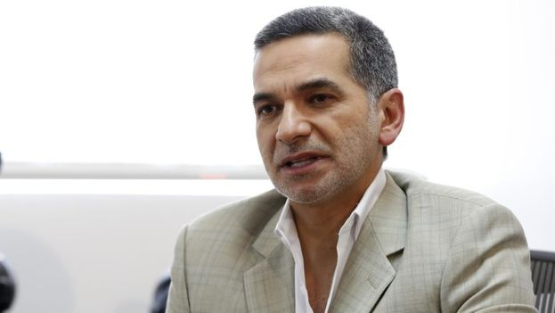 Fernando Alvarado llevaba un grillete electrónico que, por razones desconocidas, no sonó cuando se lo quitó.  (EFE)