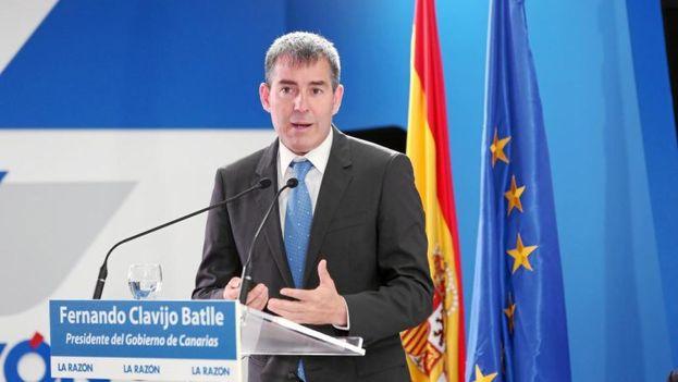 Fernando Clavijo, presidente de Canarias, se encuentra de visita en Cuba. (Archivo EFE)