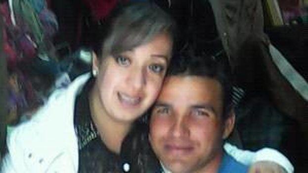 Fernando Collazo y Tania Chacón. (Facebook)