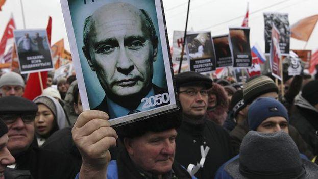 La Fiscalía de Moscú colgó hoy en su web esa advertencia, después de que el pasado domingo tuvieran lugar en la capital rusa y otras ciudades las mayores protestas contra la corrupción desde hace cinco años. (EFE)