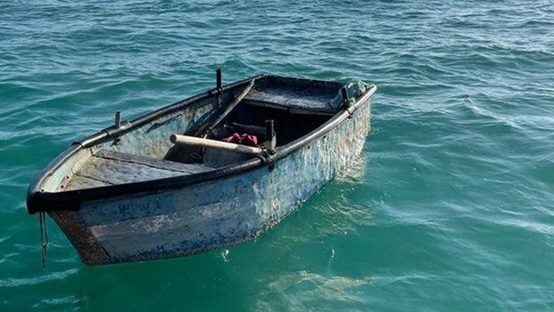 Desde octubre de 2020 más de 90 cubanos han sido interceptados intentando cruzar ilegalmente a los Estados Unidos a través del estrecho de Florida. (Guardia Costera de EE UU)