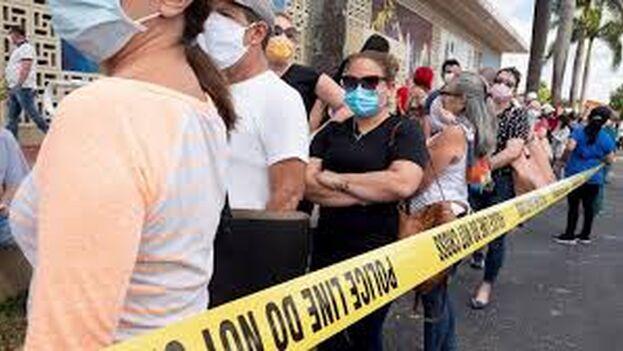 Florida ha aumentado el número de casos, pero también se están haciendo más test. (captura)