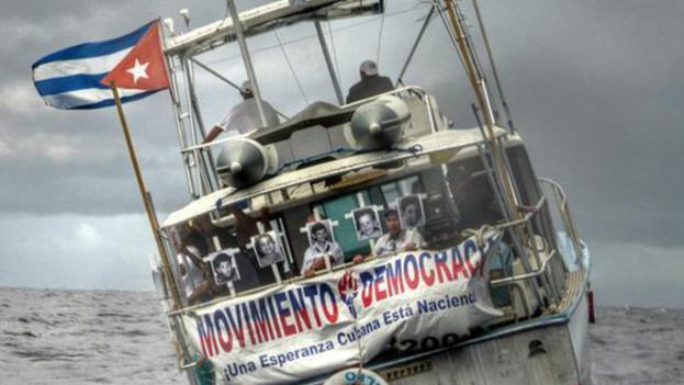 Flotilla por los 20 años del remolcador 13 de marzo. (Movimiento Democracia)
