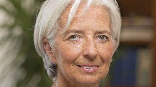 La directora-gerente del Fondo Monetario Internacional, Christine Lagarde. (@Lagarde)
