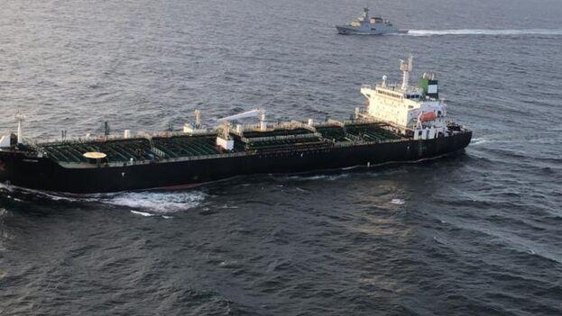 El 'Forest' es el primero de los tres buques que se esperan en este envío de Irán a Venezuela.