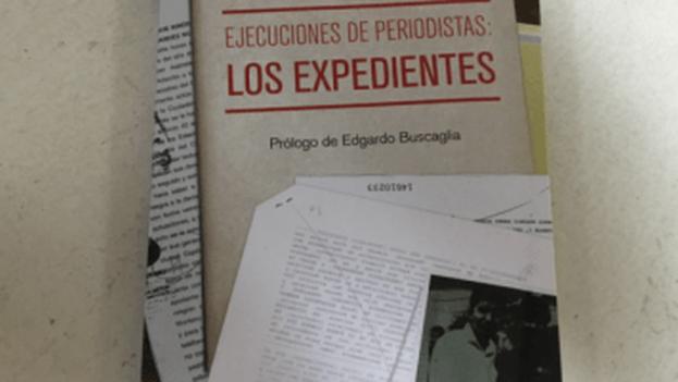 Fragmento de la portada de 'Ejecuciones de periodistas: los expedientes'