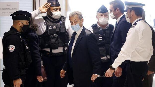 El expresidente de Francia Nicolas Sarkozy. (EFE/EPA/Ian Langsdon)