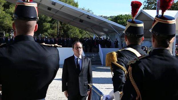 Francia rinde homenaje a las víctimas del atentado de Niza del 14 de julio. (EFE)